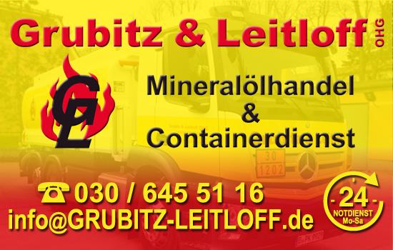 Visitenkarte vom Heiz-/ Diesel und Containerdienst