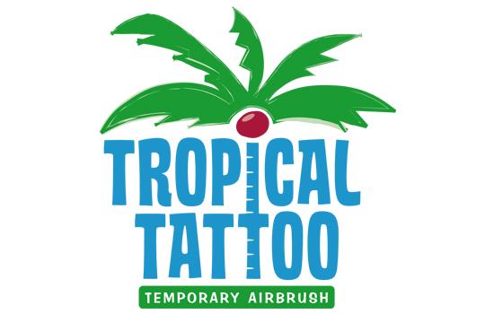 Logo von Tropical Tattoo Temporary Airbrush