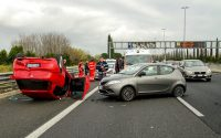 Bestandsaufnahme nach Verkehrsunfall mit Einsatzkräften